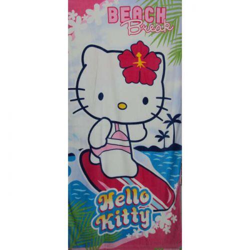 Πετσέτα θαλάσσης Hello Kitty