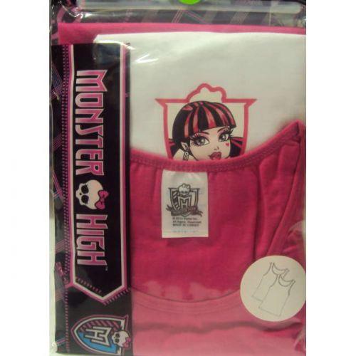 Φανελάκι παιδικό κορίτσι Monster High με φαρδιά τιράντα 2 τεμαχίων