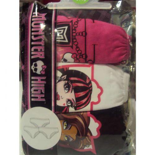 Βρακάκι παιδικό κορίτσι Monster High 3 τεμαχίων