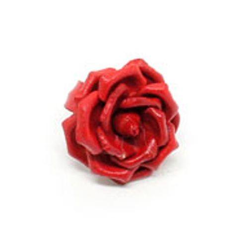 Δακτυλίδι λουλούδι από δέρμα