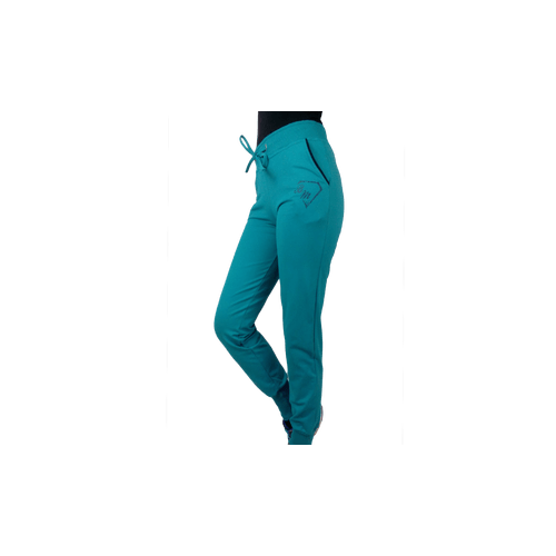 Παντελόνι φούτερ / λύκρα με μανσέτα και φυτίλι γυναικείο Body Move