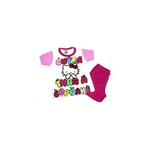 Πυτζάμα Hello Kitty κοντομάνικη βαμβακερή