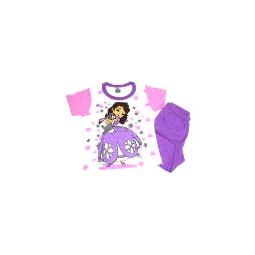 Πυτζάμα παιδική Sophia κοντομάνικη βαμβακερή