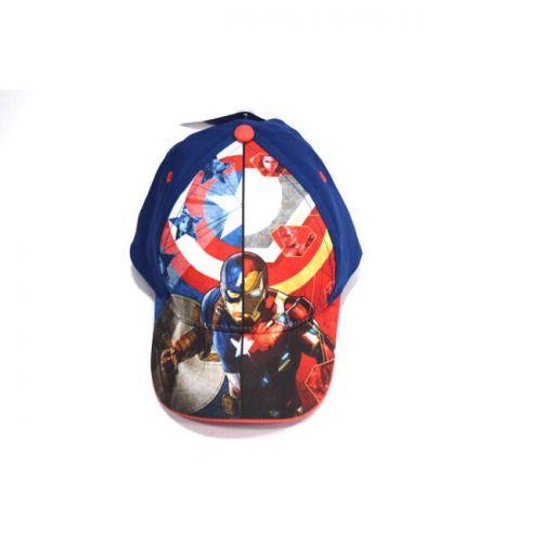Καπέλο jokey βαμβακερό Captain America