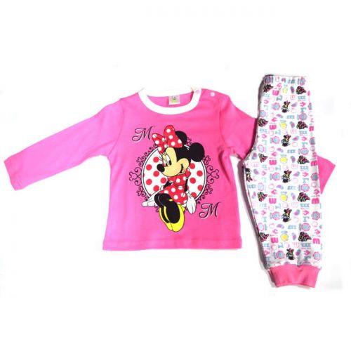 Πυτζάμα παιδική Minnie βαμβακερή