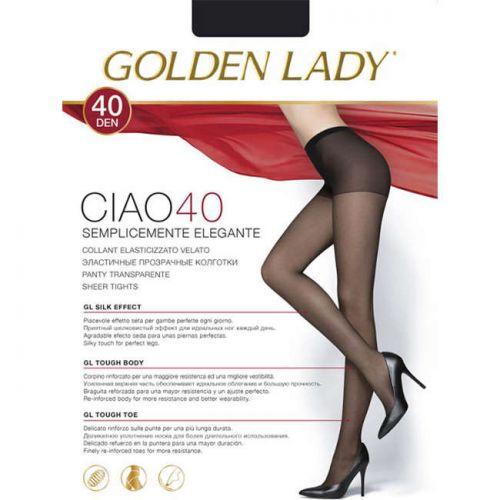Καλσόν CIAO40 της Golden Lady Ματ 40DEN σε Μαύρο