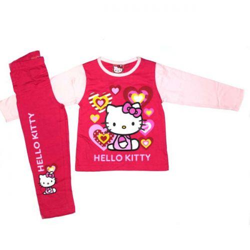 Πυτζάμα  Hello Kitty βαμβακερή