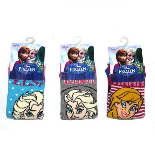 Κάλτσα παιδική Disney βαμβακερή με Frozen