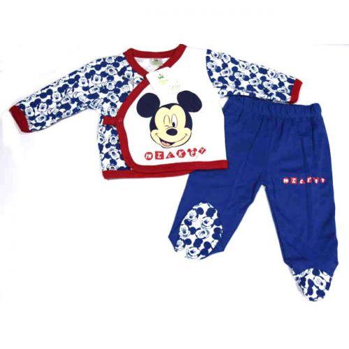 Πυτζάμα Be-Be Mickey βαμβακερή