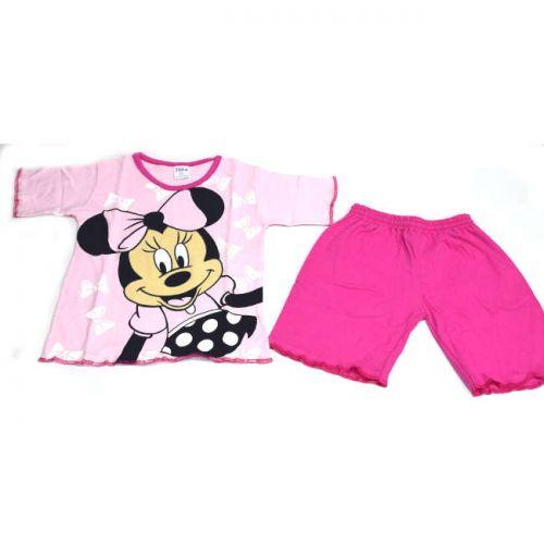 Πυτζάμα Jolie παιδική βαμβακερή Minnie