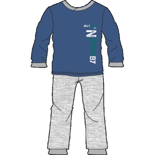 Πυτζάμα παιδική - εφηβική αγόρι της Natura βαμβακερή