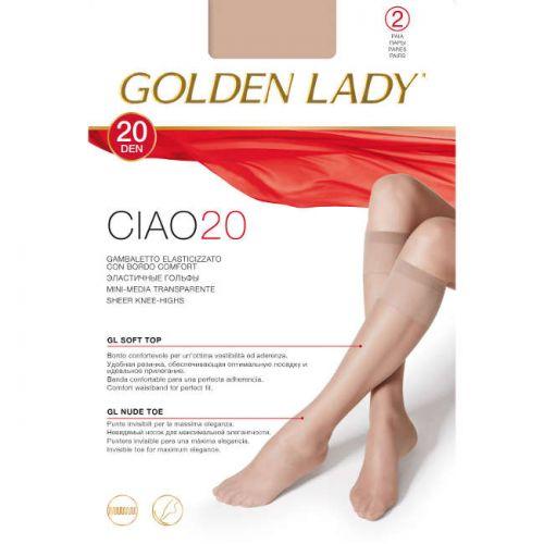 Καλτσάκι 2τεμ. CIAO20 της Golden Lady Ματ 20DEN MELON(Του ποδιού)