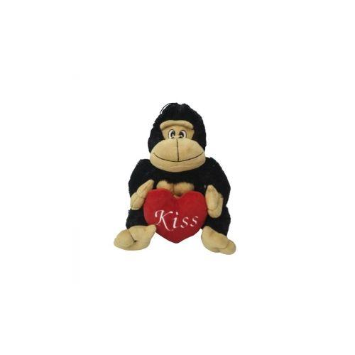 Πίθηκος  λούτρινο με καρδιά 25cm