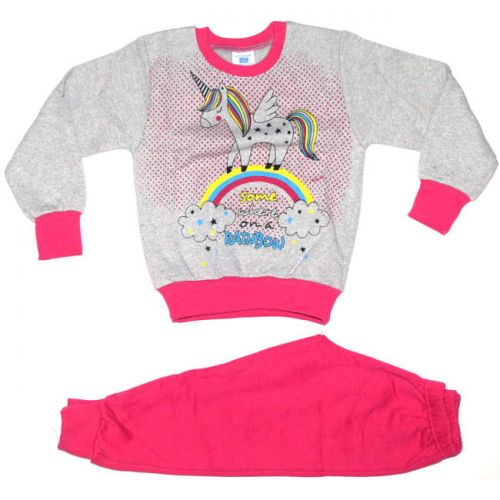 Φόρμα παιδική για κορίτσι Unicorn βαμβακερή