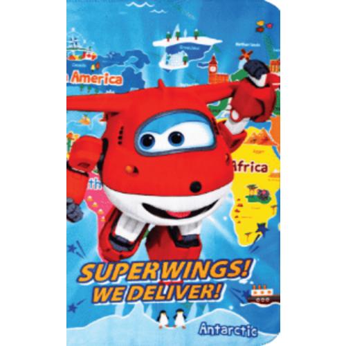 Κουβέρτα φλις Super Wings 100X140cm