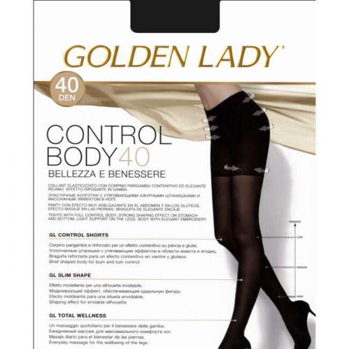 Καλσόν Control Body 40 της Golden Lady με λαστέξ σε MELON(του ποδιού)